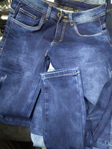 Pantalon Jean Pitillo Strech Clasico Moda Urbana Para Hombre