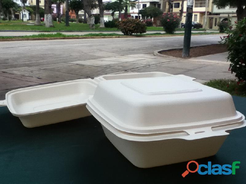Biodegradables ecológicos para alimentos delivery Lima