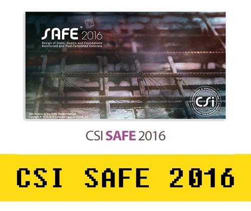 Csi Safe 2016 32 Y 64 Bits Con Licencia Vitalicia