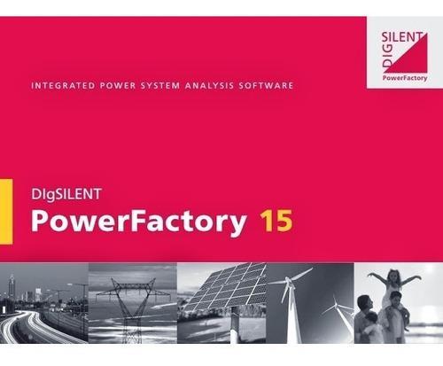 Digsilent Powerfactory 15.1.7 Windows 32 Y 64 Bits + Manual