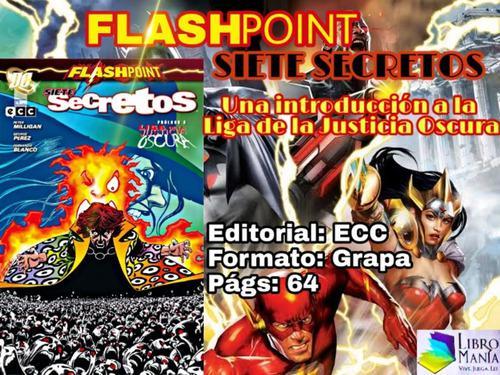 Flashpoint, Siete Secretos. Cómic Ecc