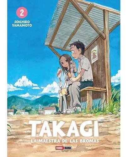 Manga Takagi La Maestra De Las Bromas Tomo 02 - Mexico