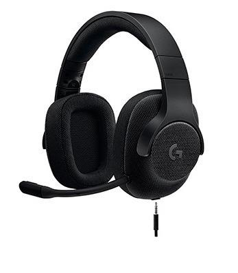 Audifono C/microf. Logitech G433 7.1 Black (981-000667)