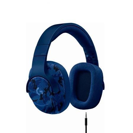 Audifono C/microf. Logitech G433 7.1 Blue Camo