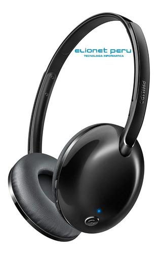 Audifono C/microf. Philips Bluetooth Shb4405bk Black