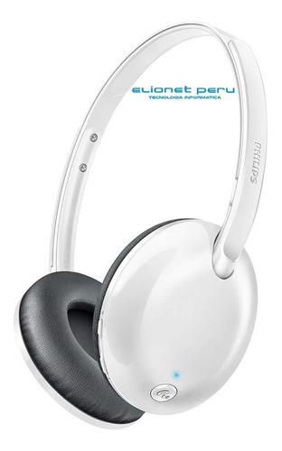 Audifono C/microf. Philips Bluetooth Shb4405wt White