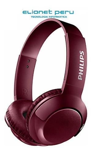 Audifono C/microf. Philips Shb3075rd Red
