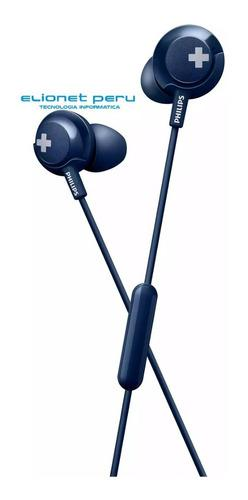 Audifono C/microf. Philips She4305bl Blue