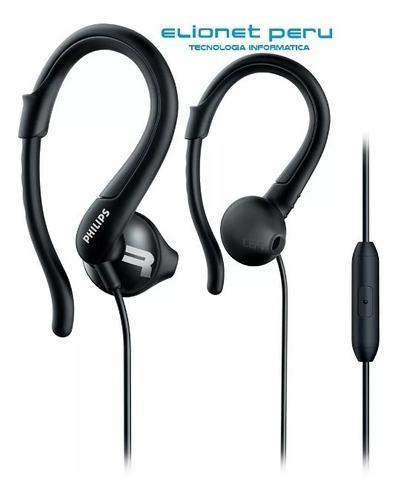 Audifono C/microf. Philips Shq1255tbk Ipx2 Black