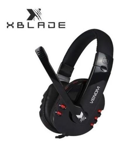 Audifono C/microf. Xblade Gaming Venom Teletrabajo Chat Orig