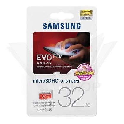 Tarjeta Micro Sd Memoria Samsung Evoplus 32gb Clase 10