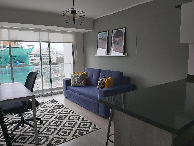 Alquilo Moderno Dpto. en Barranco Amoblado y Equipado $633