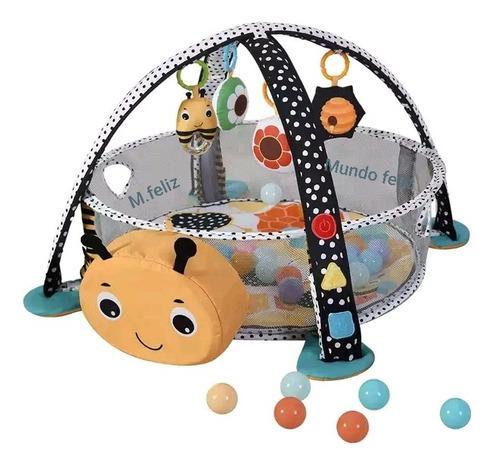 Alfombra 3 En 1 Gimnasios Para Bebes A Luces Led Con Arco