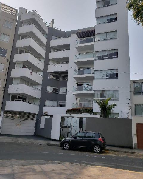 Alquiler de Moderno Departamento Amoblado en Miraflores,