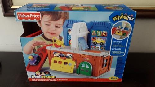 Garage Grua De Reparaciones - Fisher Price - Little People