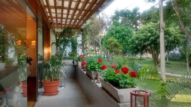Venta de Departamento en Miraflores Duplex Vista a Parque