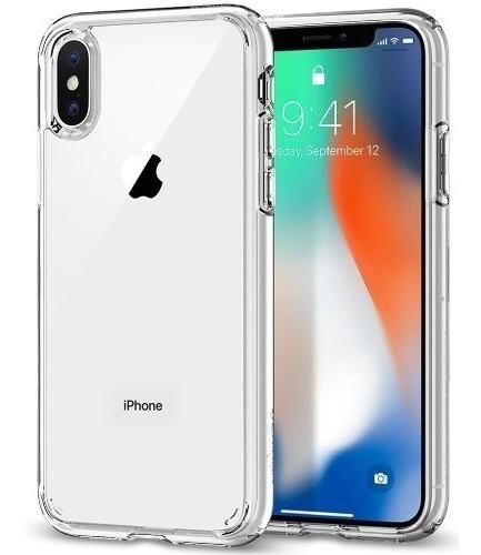 Case Spigen Ultra Hybrid Para iPhone X Y Xs De Policarbonato