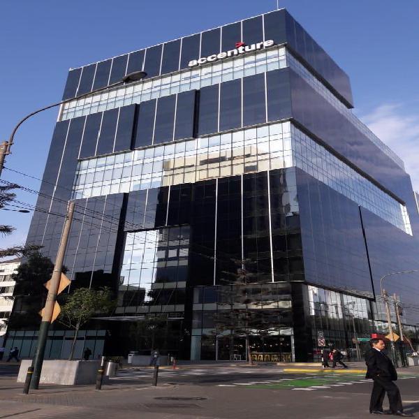 Ton - 503 Moderna Oficina en Gris de 712 m² en San Isidro