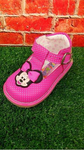 Zapato De Cuero Para Niña En Planta Pibe Talla 20-21