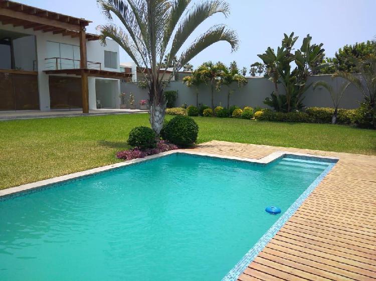 Venta de Hermosa Casa La Encantada, Chorrillos