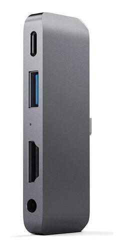 Adaptador Hub 4en1 Usb C Hdmi Galaxy Book Tab S6 S5e S4 Dex