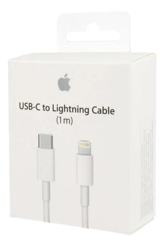 Cable Apple iPhone 11 Tipo- C 1 Metro Original Blanco Caja