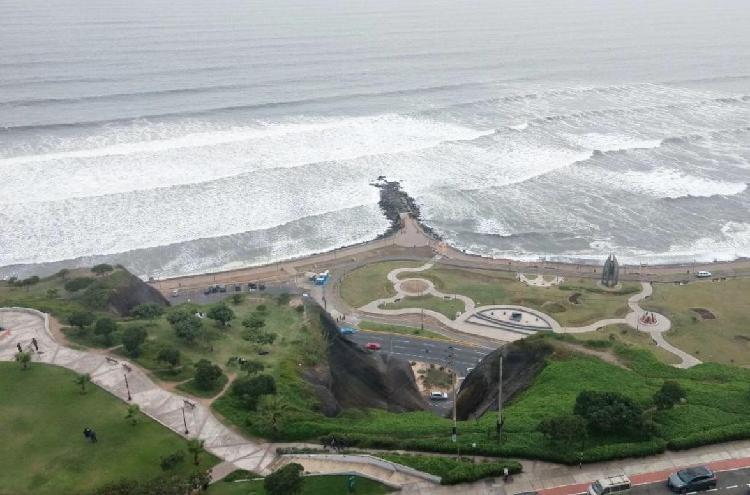 Estreno, Amplio Departamento Flat de Lujo con Vista Al Mar