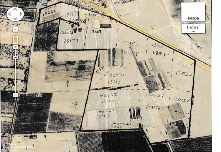Venta de Terreno Agrícola en Pueblo Nuevo
