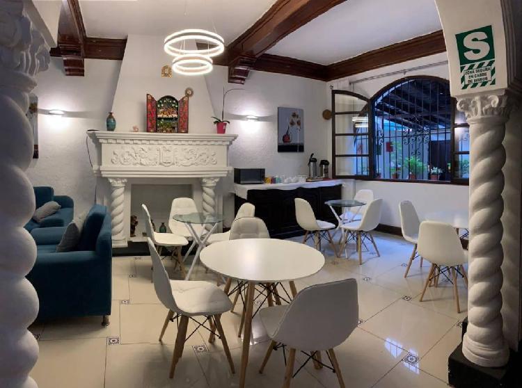 Se Vende Casa Destinada a Hospedaje de 240 m² Totalmente