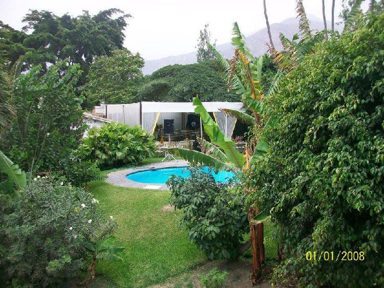Alquiler de Casa de Campo en Chaclacayo y Chosica