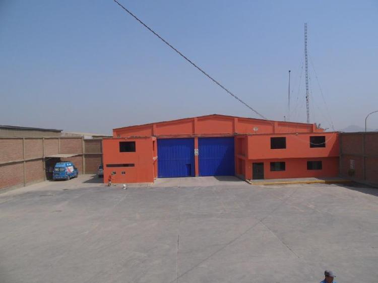 Alquiler de Local Industrial en Chosica