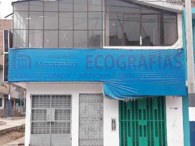 Alquilo Local Comercial en El Distrito de Mi Perú -