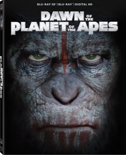 Blu Ray El Planeta De Los Simios: Confrontación 3d-2d-