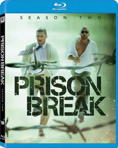 Blu Ray Prison Break: 2da. Temporada - Stock - Nuevo