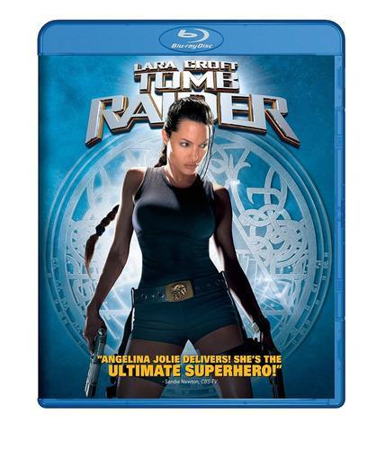 Blu Ray Tomb Raider: Lara Croft - Stock - Nuevo - Sellado