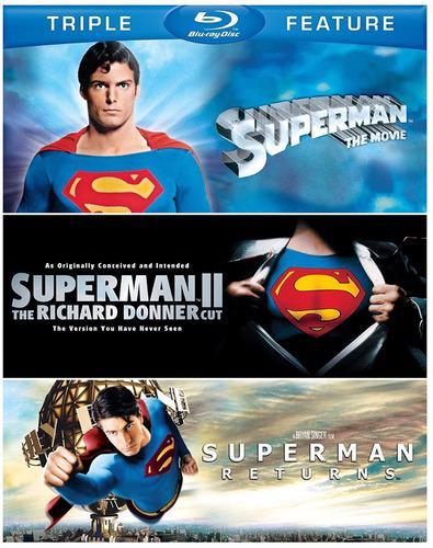 Blu Ray Trilogia Superman 100% Original, Nuevo Y Sellado