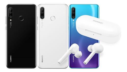 Huawei P30 Lite 128gb 6gb Sellado + Inalámbricos Freebuds