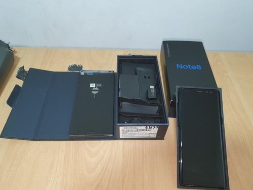 Samsung Galaxy Note 8 Negro Usado
