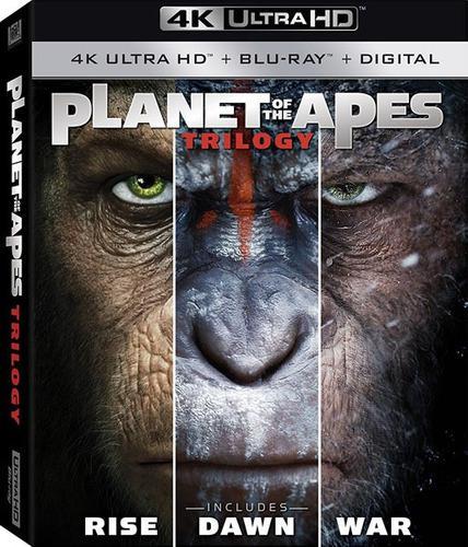 pedido] Planeta Simios Trilogia 4k Bluray Nuevo Planet Apes
