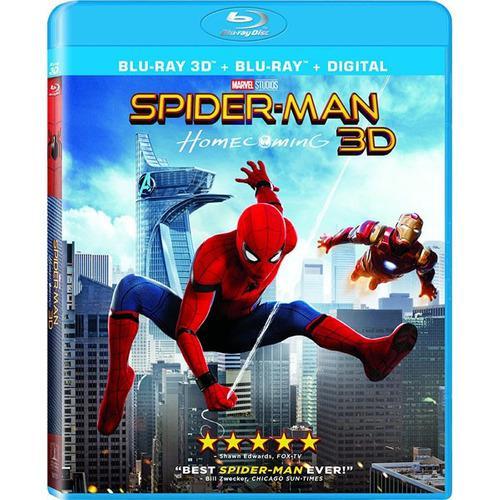 pedido] Spiderman Homecoming 3d Bluray Regreso A Casa