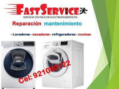 921080122 servicio Técnico SAMSUNG lavadoras secadoras