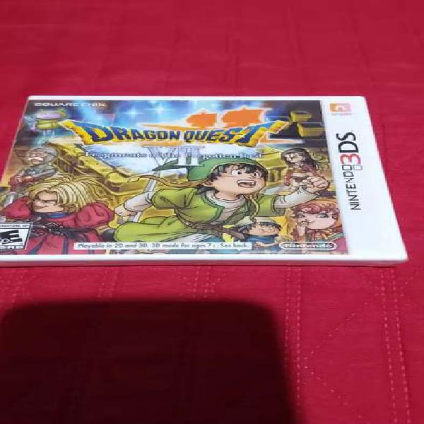 Dragon quest juego de nintendo 3ds