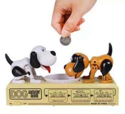 Alcancia Doble Perrito Come Monedas