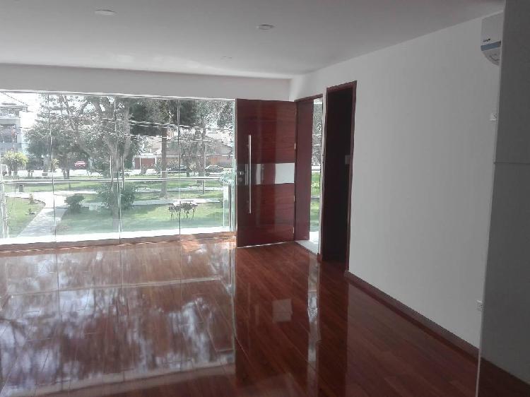 Alquilo Departamento en El Remanso - La Molina - 1*piso