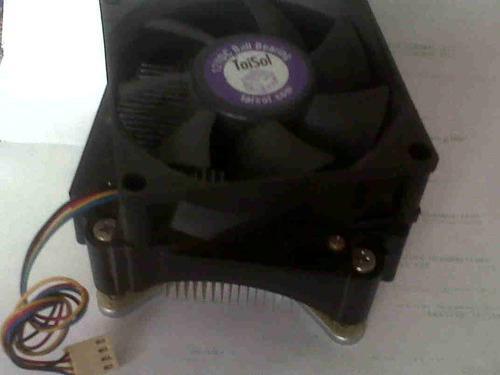 Cooler Taisol Socket 775 Base/tornillos Metálicos