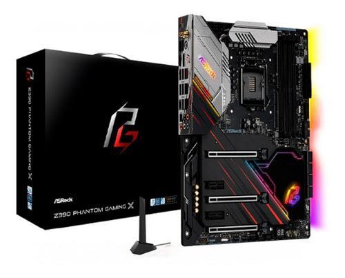 Mb Asrock Z390 Phantom Gaming X 90-mxbaj0-a0uayz Lga 1151