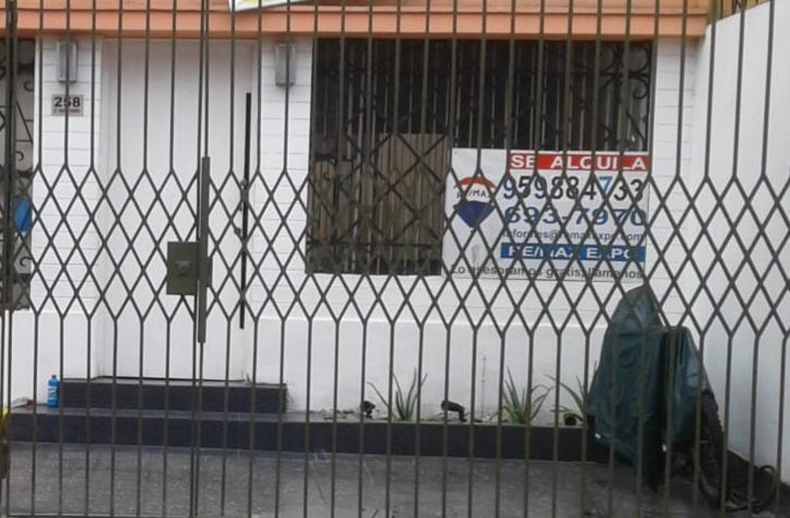 Miraflores Casa Alquiler 1 Piso Remodelada