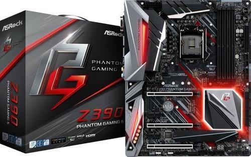 Motherboard Asrock Z390 Phantom Gaming 6/lga1151/intel/ddr4