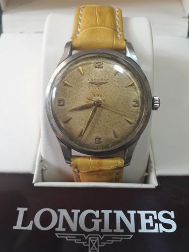 Antiguo Reloj Longines 12.68.zs 3 Estrellas 50's- Suizo-rubi