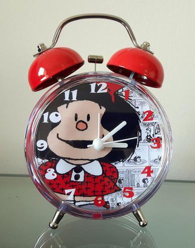 Reloj Despertador Estilo Vintage Mafalda Envio Gratis Lima